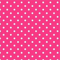 White polka dots on rose pink background Cute Wallpaper For Phone, Cute Girl Wallpaper, Trendy Wallpaper, Cute Wallpaper Backgrounds, Backgrounds Free, Pink Polka Dots Wallpaper, Pink Polka Dots Background, Fundo Pink, Cute Wallpapers Quotes