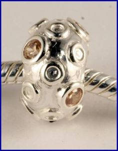 Sterling Silver Charm set with created Sapphire SG03b  BROOCH  FASHION  JEWELLERY, FROM JEWELLERYAUCTIONS.COM