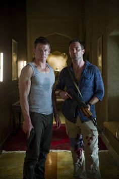 The dudes from Strike Back. Love this show.