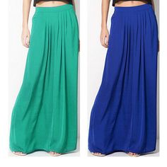 2016 Woman Satin Long Skirt Elastic Waist Floor Length Maxi Skirts Female Plus Size Ladies Bohemia Pleated saia skirts For Women-inSkirts from Women's Clothing & Accessories on Aliexpress.com | Alibaba Group