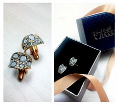 Designed these beautiful 'Fierce' leopard print bespoke diamond cuff links as a birthday present!