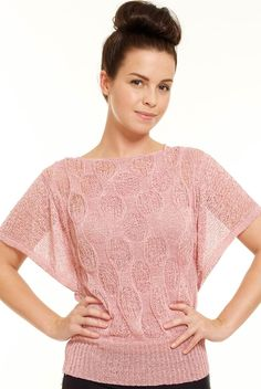 Loose cable knit top, Goddiva
