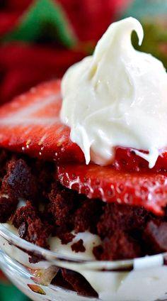 Red Velvet Trifle.