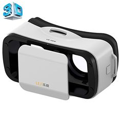 3D VR Headset LEJI  Mini Virtual Reality Universal Goggles Helmet Cinema Glasses Adjustable for 45 to 55 Inch Smartphones for 3D Games and Movies >>> Details can be found by clicking on the image.Note:It is affiliate link to Amazon.