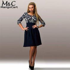 66860020b355 Women Vintage Vestidos Dress Floral Print