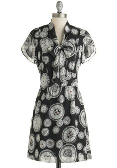 Cute O'Clock Dress. This item was picked by you in our Be the Buyer Program and will be sold exclusively online at ModCloth!  #modcloth