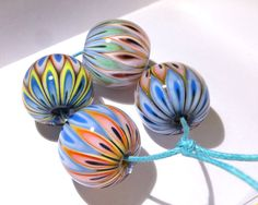 Micmac Beads from carla di francesco / on auction - https://www.facebook.com/groups/lampworkbeadmarket