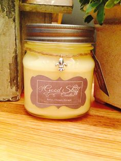 Lemon Verbena Soy Candle by TheGoodStuffCandles on Etsy, $15.00
