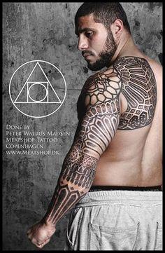 Tattoo by Peter Walrus Madsen at Meatshop Tattoo