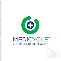 Logo Design for MediCycle, a division of Interwaste, NZ Page Design, Division, Graphic Design, Logos, Logo, Visual Communication