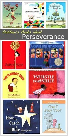 Children's Book List: Stories about Perseverance (Great set of stories for back to school)~ BuggyandBuddy.com