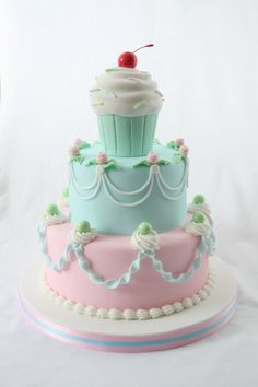 Birthday cake adorable!