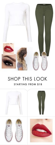 """""""Untitled #412"""" by slytherin427 ❤ liked on Polyvore featuring Proenza Schouler, 2LUV, Converse and Jouer"""