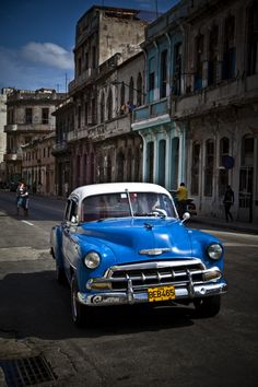It feels like a relic of the past, distant past! Cuba