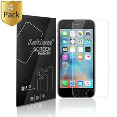 iphone 6 6s 47 Screen ProtectorAuideas 4Pack iphone 6 6s 47 Screen Protector Film HD Clear Retail Packaging for iphone 6 6s 47 HD Clear >>> Check out this great product.