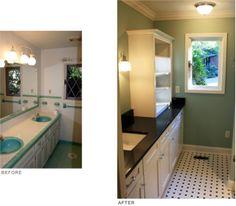 Bath Vanity & Floor - Renovation
