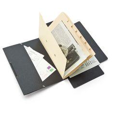 Cardboard 9-section Folder