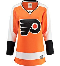 a14aac26 Philadelphia Flyers Fanatics Women's Breakaway Replica Home NHL Hockey  Jersey
