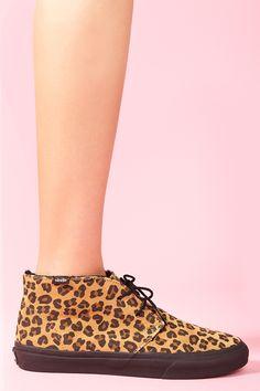 Chukka Sneaker in Leopard