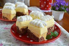 1000_marvanyos_kremszelet_02_20150505_095619 Cheesecake, Desserts, Food, Tailgate Desserts, Deserts, Cheese Cakes, Eten, Postres, Dessert