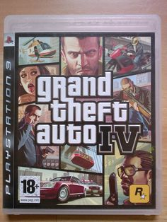 "Grand Theft Auto IV Jeu Vidéo ""PS3"" Playstation 3 - TBE et complet"