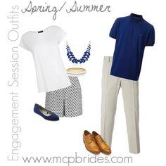 Spring/Summer Engagement Session Outfit Ideas Navy Blue mcpbrides.com Elizabethtown, KY