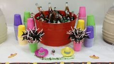Mexican Sodas for a Candy Table Mexican Candy Table, Mexican Party, Retirement, Tableware, Sodas, Mexican Fiesta, Dinnerware, Tablewares, Retirement Age
