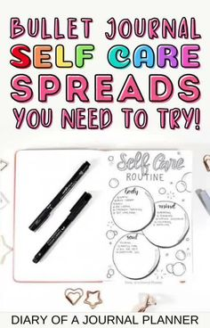 Make self care a priority again by getting inspired by these 15 stunning bullet journal self care pages! #bulletjournal #Bujo #selfcare Journal Quotes, Journal Prompts, Journal Pages, Journal Ideas, Self Care Bullet Journal, Bullet Journal How To Start A, Bullet Journals, Bullet Journal Layout Templates, Bullet Journal Printables