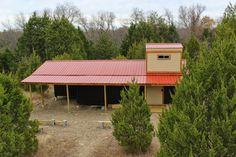 Blue Star Observatory & Cabin: Building the Observatory
