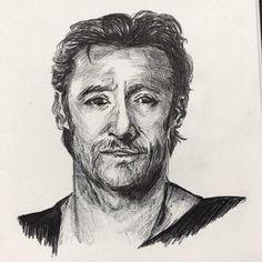Hugh  #inktober2017 #inktober #ink #bicpen #sketch #inktober #art #artwork #artnerd #artfido #artsy #art #instaarts #artvsreality #artvsanxiety #fixingmymind #hughjackman @thehughjackman #crosshatching #line #pen #penart #portrait #retrato #wednesday #instamood #instaartist