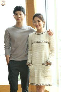 More Hong Kong Media Shots of Song Joong Ki & Song Hye Kyo for DOTS Promo (UPDATED 2x) | Couch Kimchi