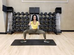 5 Must-Try Squat Variations. From eagle squats to sumo squats, incorporate these squat variations into your training regimen for an awesome lower-body workout. Squat Variations, Sumo Squats, Workouts, Eagle, Training, Legs, Awesome, Fitness, Body Sculpting Workouts