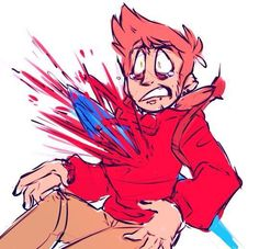 Eddsworld/Sinworld Pictures - Pretty much just TomTord NSFW Cartoon Shows, A Cartoon, Pose Reference, Drawing Reference, Tord Larsson, Eddsworld Tord, Eddsworld Comics, Red Army, Drawing Poses