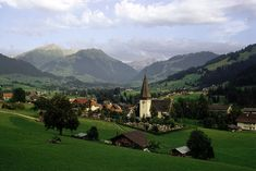Switzerland...never been, but hope to one day go to Elm.