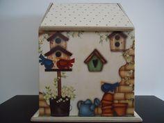 Puxa Saco Casa de Pássaros