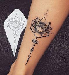 Tatto flor de lótus