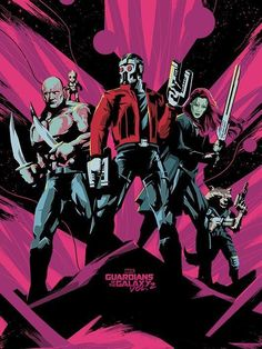 Guardians of the Galaxy — NEW GUARDIANS OF THE GALAXY 2 POSTER & PROMO...