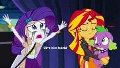 sorry Rare, but I'm with Sunset now by titanium-pony on DeviantArt