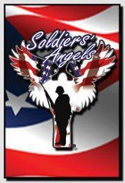 Red White and Blue Soldiers Angel