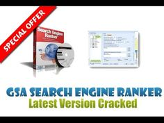 [EXCLUSIVE] GSA Search Engine Ranker CRACK Unlimited Version-Free Download