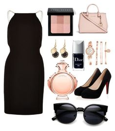 """""""Untitled #2"""" by damisela-lea on Polyvore featuring Michael Kors, Paco Rabanne, Bobbi Brown Cosmetics, Christian Dior, Anne Klein, Marc by Marc Jacobs, River Island, women's clothing, women's fashion and women"""