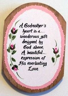 AND I LOVE LOVE LOVE MY GODMOTHER AUNT KAREN....AND BEING A GODMOTHER TO TORI
