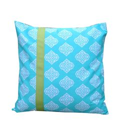 20x20 Pillow Cover in Beach Girl  Aqua by BluSnapdragonDesigns, $20.00