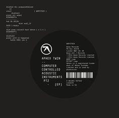 The Designers Republic / Warp / Aphex Twin  Computer Controlled...