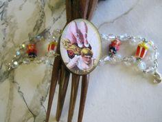 Circus Acrobat Bracelet by jansbeads on Etsy, $27.50