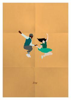 Lindy Hop is a daily inspiration. Meet my little dancers!