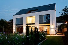 This award-winning new build in Yorkshire demonstrates the art of making the most of a challenging plot with a contemporary home Residential Architecture, Contemporary Architecture, Architecture Details, Contemporary Homes, Bungalow Conversion, Copper House, Gambrel Roof, Arts And Crafts House, Old Houses