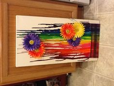 Melted crayon art #2!