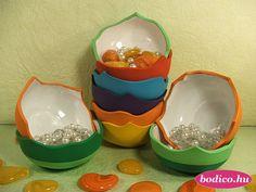 """""""CIKK-CAKK"""" Kézzel festett * különféle színekben * Serving Bowls, Tableware, Dinnerware, Tablewares, Dishes, Place Settings, Mixing Bowls, Bowls"""