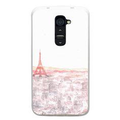 SALE Illustration Paris in watercolor.Phone case Lg Nexus 5 4 case, Lg g2 case, Lg g2 mini case, G3 case, L90, G Pro 2 Pro2